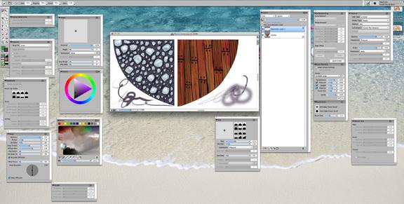 corel painter screen capture