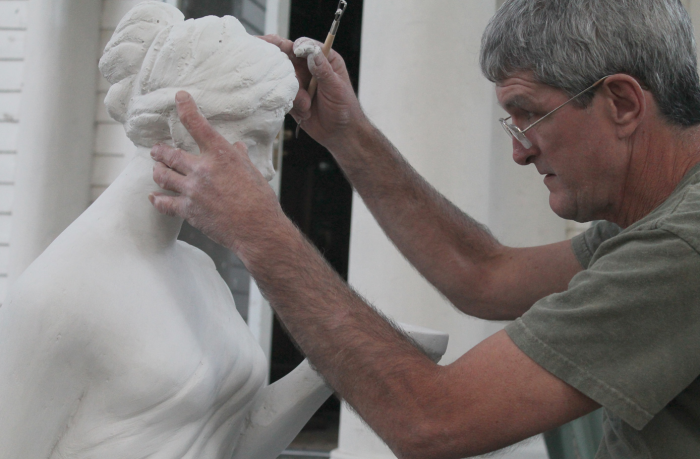 Kevin in september sculpting 2012